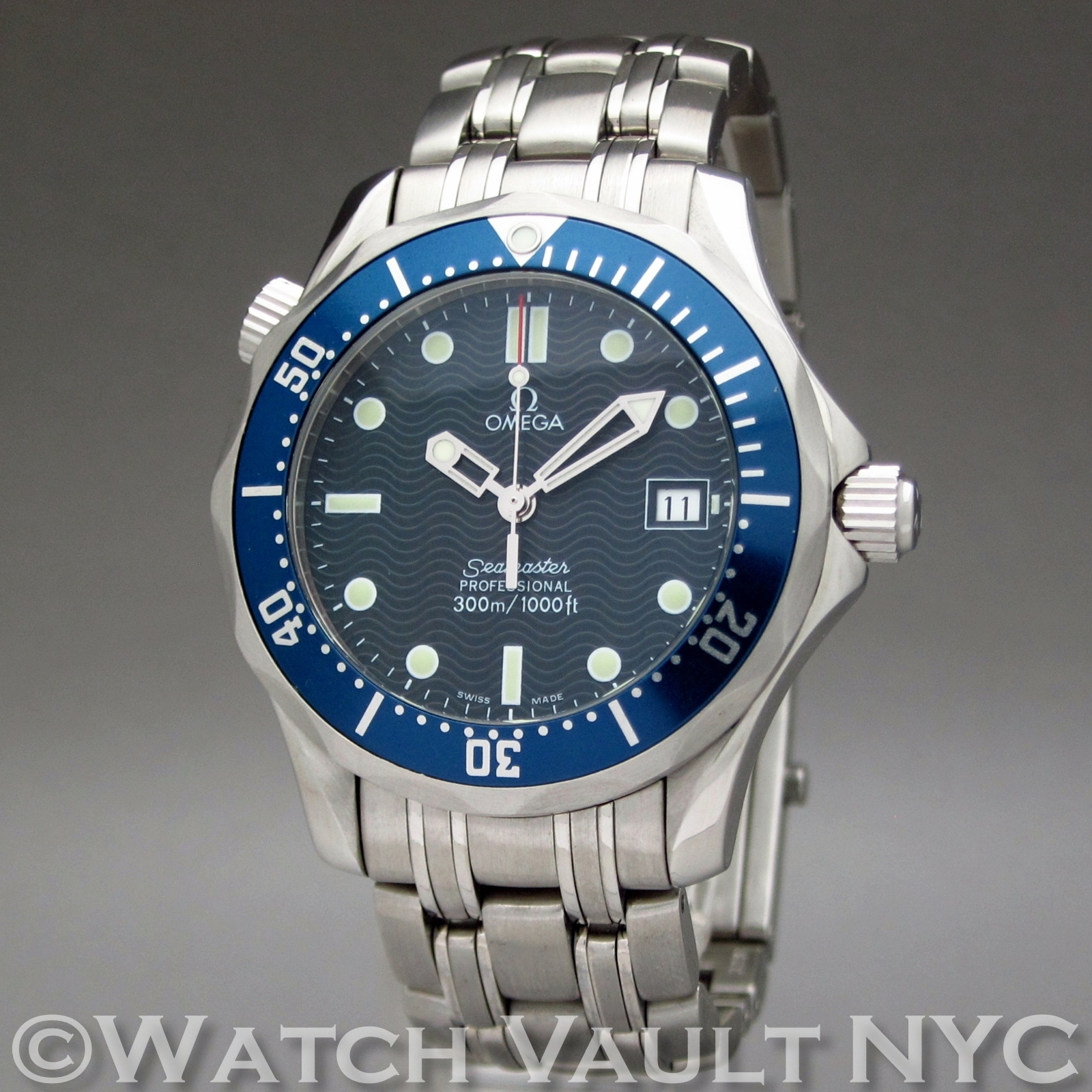 Omega seamaster professional james bond 300m for Omega seamaster professional