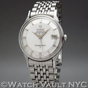 Omega Constellation Date Pie Pan 14902.62SC Vintage