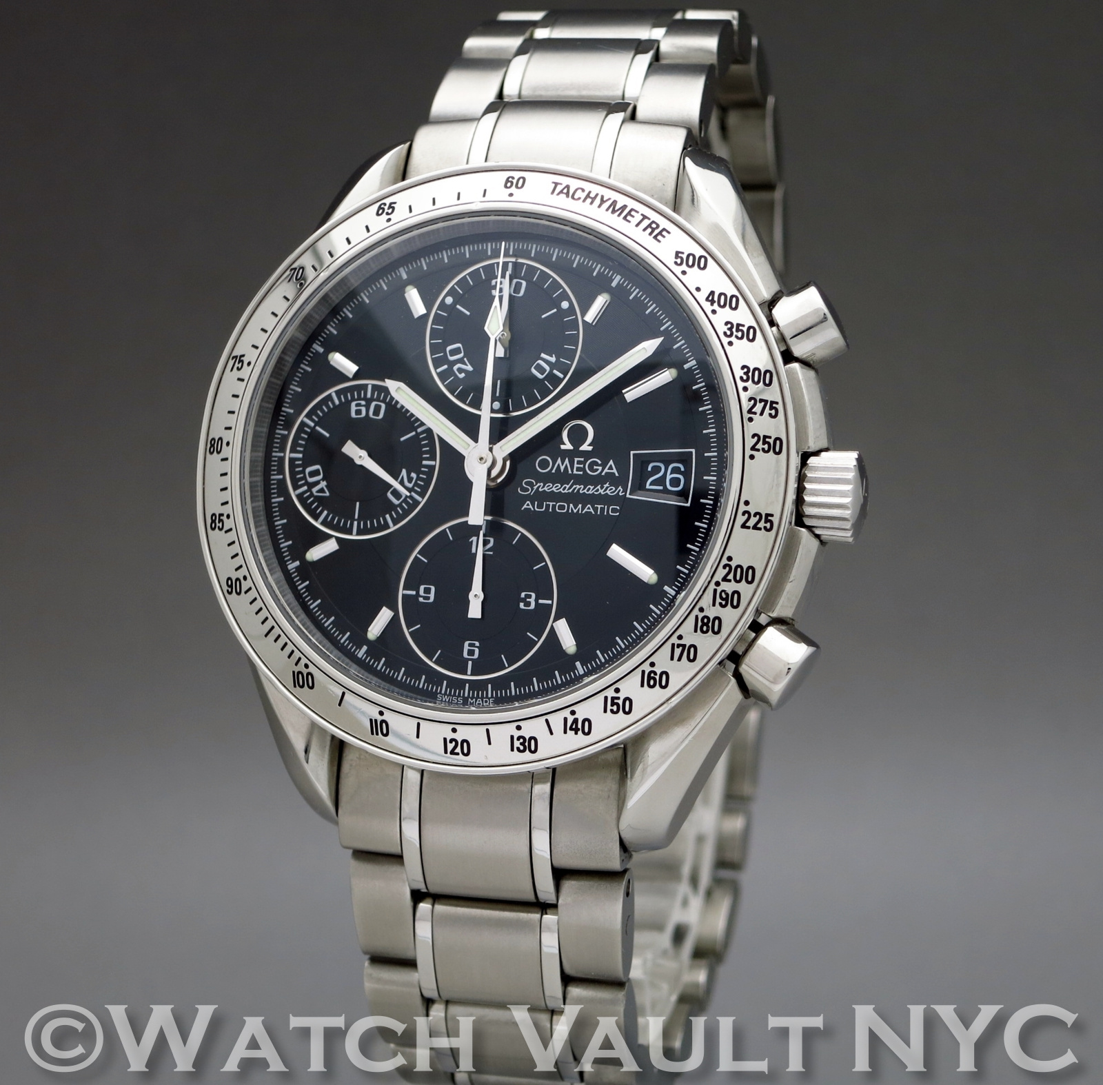 speedmaster date 3513 50 Search searching for speedmaster filter by omega speedmaster date stainless steel 39mm black dial circa 2005 35135000 retail nla $2,450.