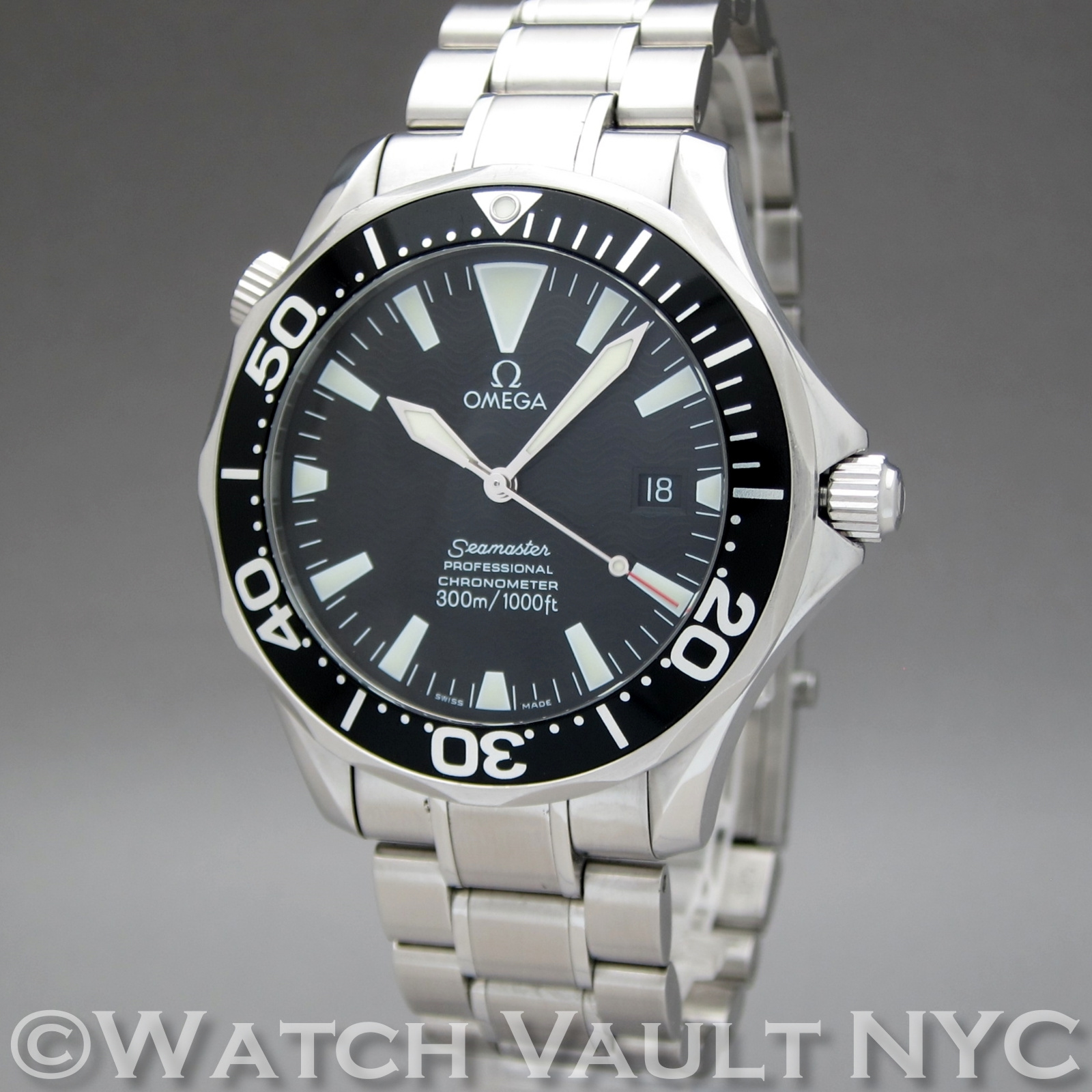 Omega seamaster professional sword hands 300m 41mm auto for Omega seamaster professional