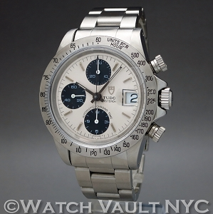 Tudor Oysterdate Chrono Time 79180 Big Block Chronograph Vintage 40mm Auto