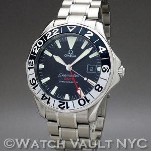 Omega Seamaster Professional 300M GMT Gerry Lopez Limited Edition 2536.50 41.5mm Auto