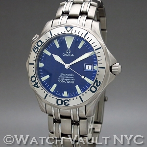 Omega Seamaster Professional 300M Chronometer Electric Blue Titanium 2231.80 41mm Auto