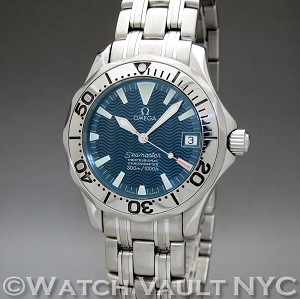 Omega Seamaster Professional Electric Blue 300M Jacques Mayol Limited Numbered Edition 2253.80 36mm Auto