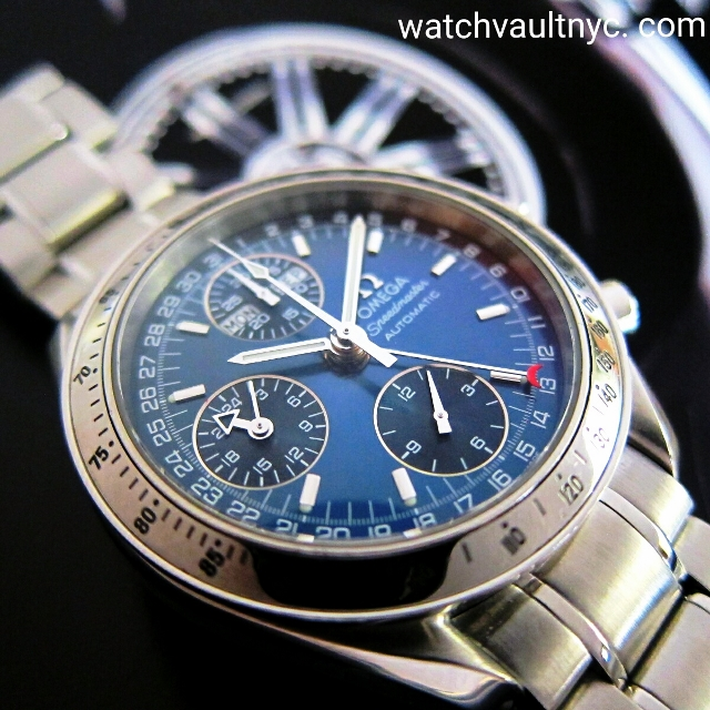 omega speedmaster mark 40 cosmic triple date Speedmaster day-date 39mm 322130 speedmaster mark ii co-axial while the original 1957 omega speedmaster was produced as a sports and racing chronograph.