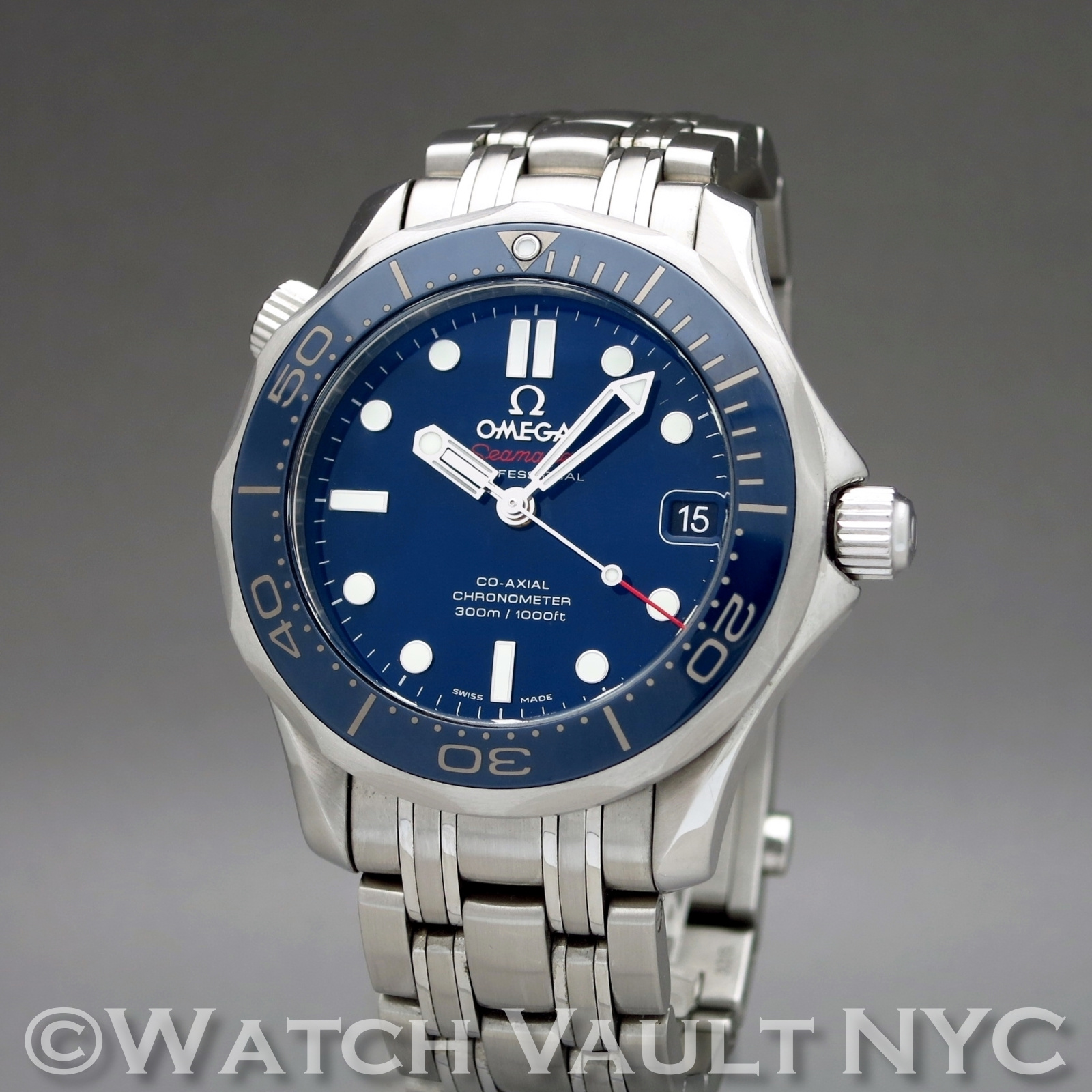 Omega seamaster professional james bond 300m ceramic bezel coaxial 36mm auto for Omega seamaster professional