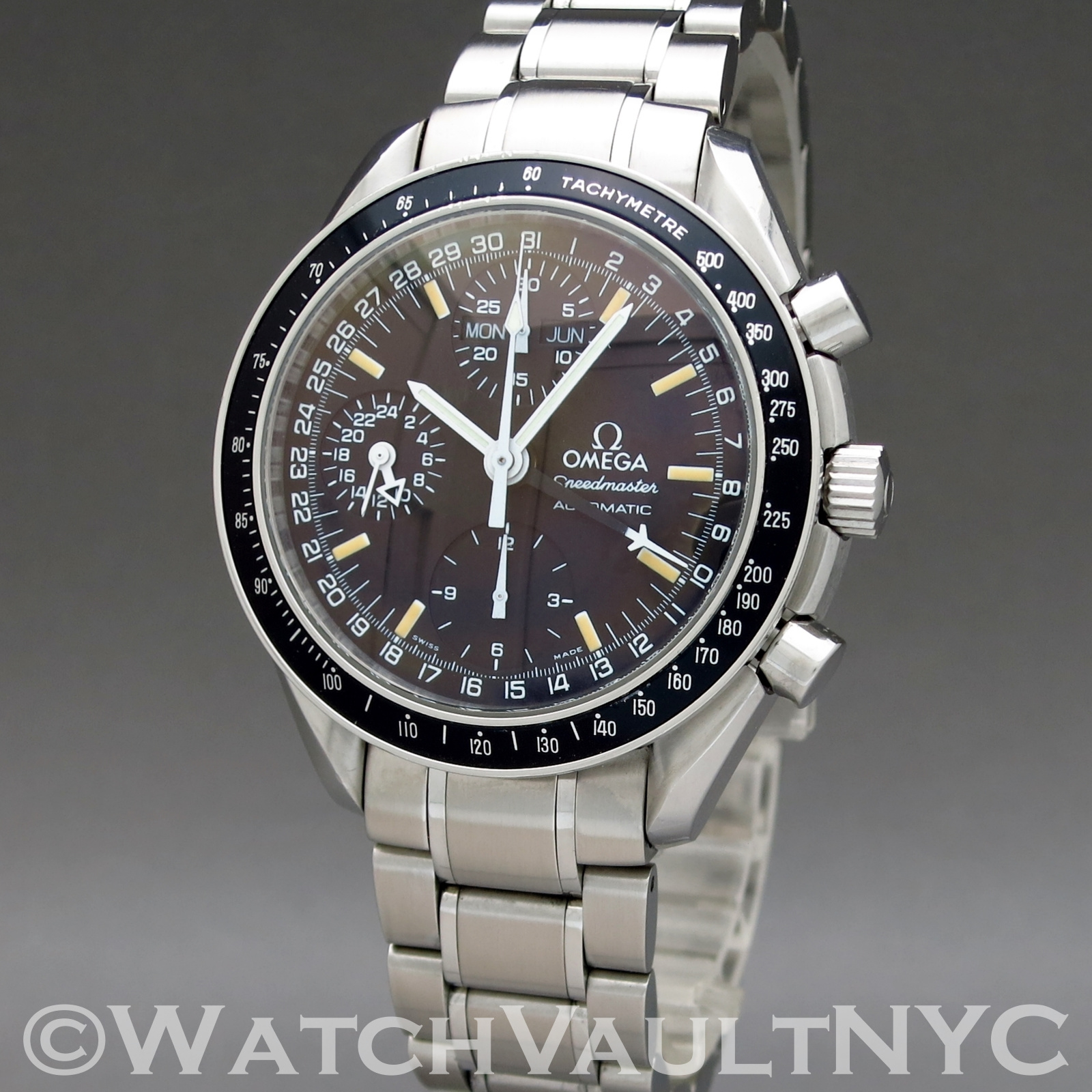 1a8724723 Omega Speedmaster Day Date Chronograph Mark 40 3520.50 39mm Auto stainless  steel Case Black Dial Unisex