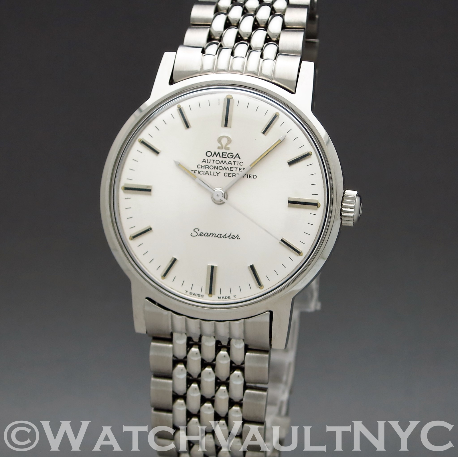 Omega Seamaster Chronometer Md166 070 1969 Vintage 34mm Auto