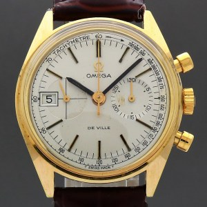 Omega Deville Chrongraph 146.017 1969 Vintage 35mm Manual