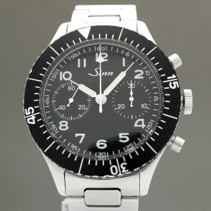 Sinn Military Chronograph JDM Limited Edition  155  43mm Manual