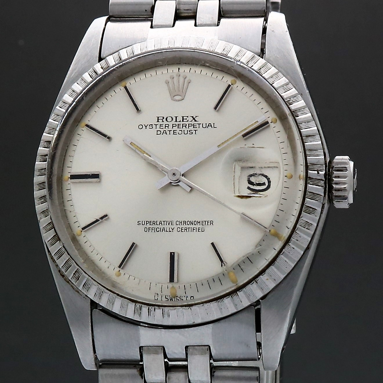 Rolex Oyster Perpetual Datejust 1603 Sigma Dial 1974 Vintage 36mm Auto