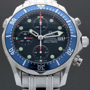 Omega Seamaster Professional 300M Chrono 2599.80 James Bond 42mm Auto