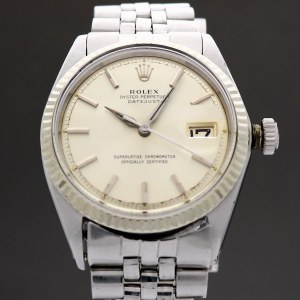 Rolex Oyster Perpetual Datejust 1601 1964 Vintage 36mm Auto
