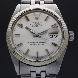 Rolex Oyster Perpetual Datejust  Wide Boy 1601 Vintage 36mm Auto