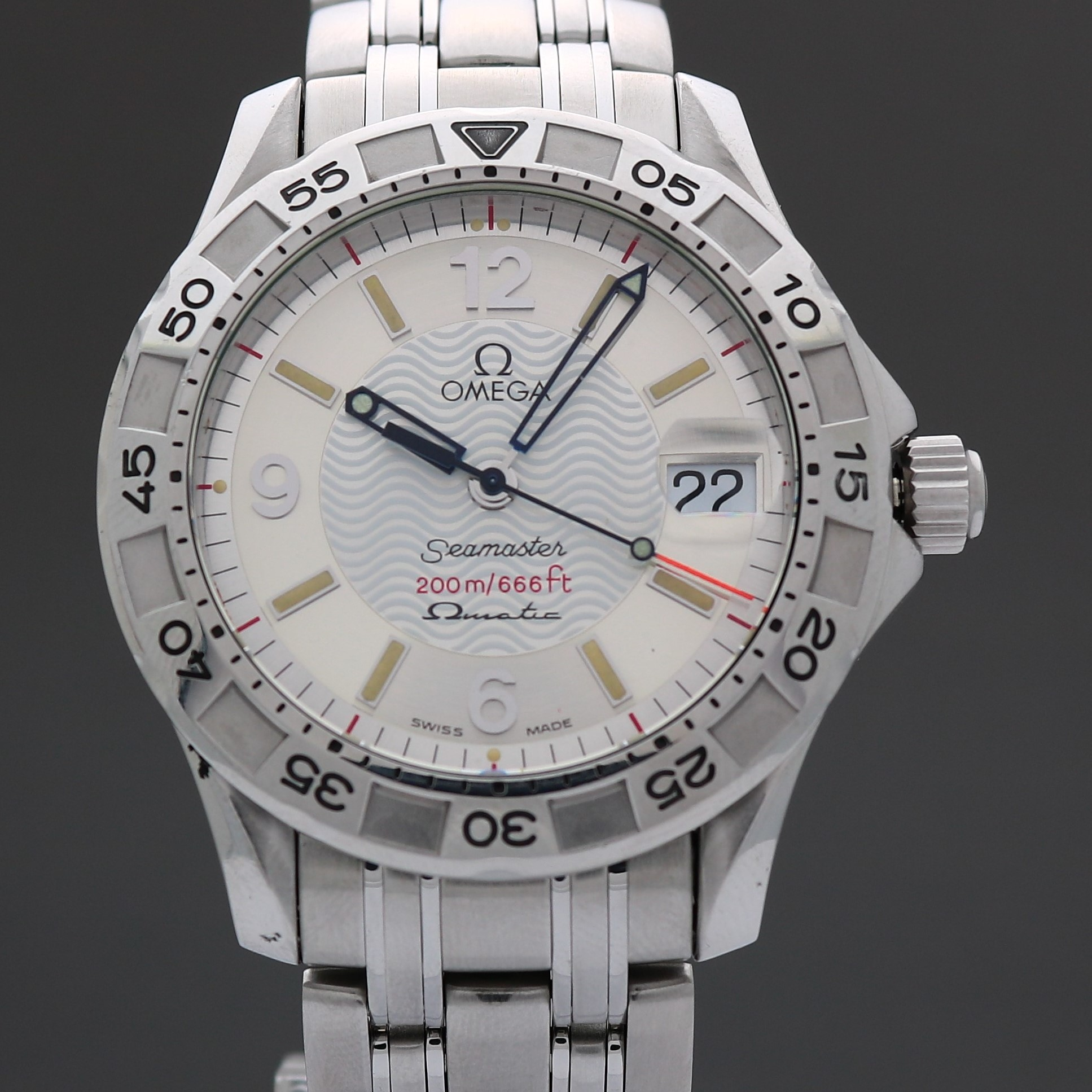 Omega Seamaster Omegamatic 2514.30  36mm Quartz