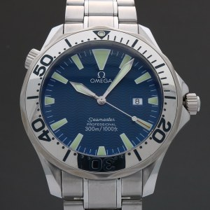 Omega Seamaster Professional 300M 2265.80 Electric Blue 41mm Quartz