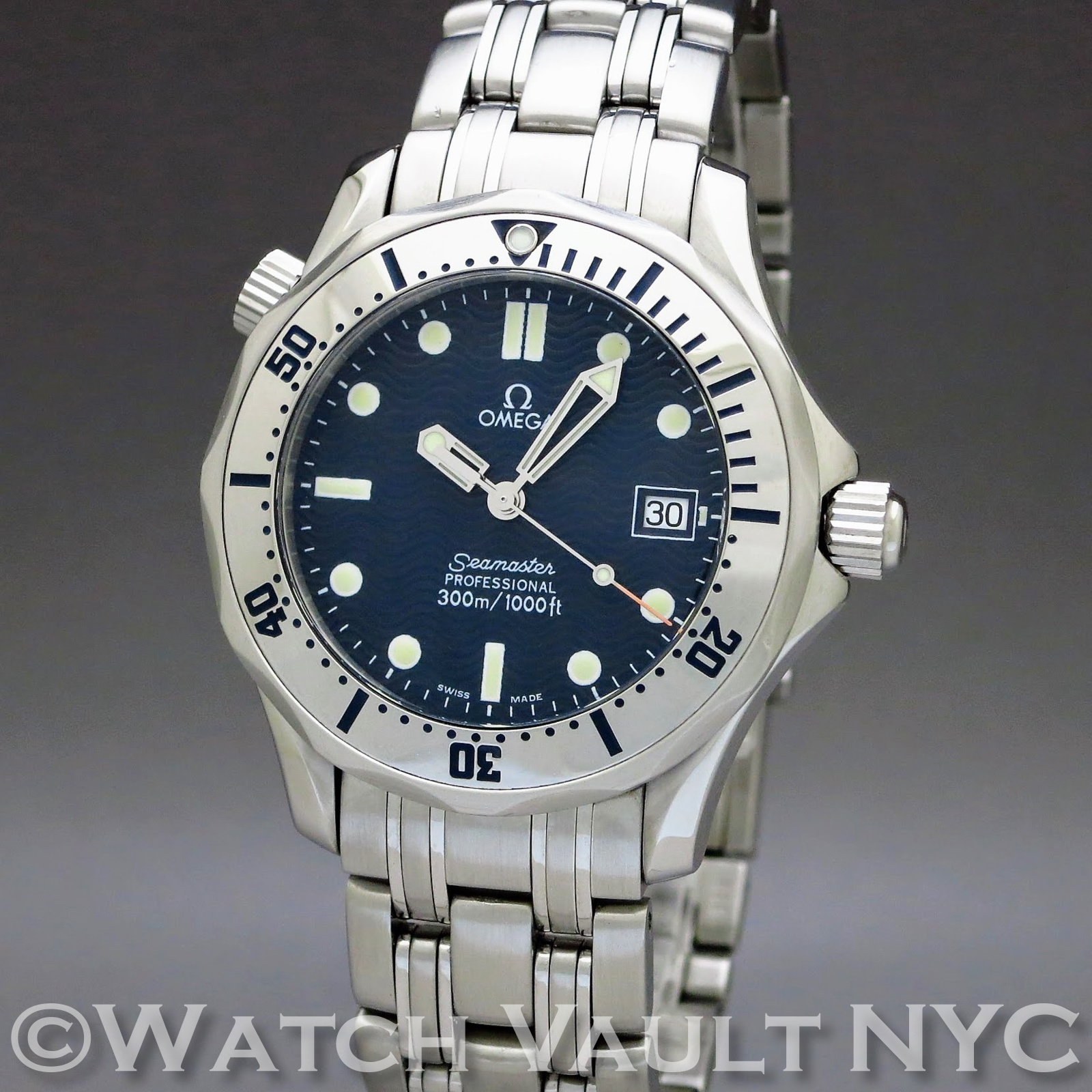 Omega seamaster professional 300m 36mm quartz for Omega seamaster professional