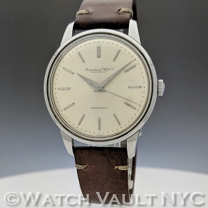 IWC Automatic Caliber 853 1960s Vintage 35mm Auto