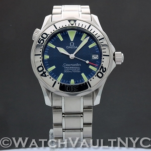 Omega Seamaster Professional 300M 2253.80 Electric Blue 36mm Auto