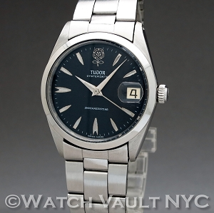 Tudor Oyster Date 7962 Big Rose 1965 Vintage 34mm Manual