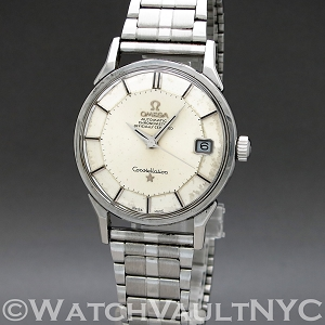 Omega Constellation Calendar 168.005 Pie Pan 1972 Vintage 34mm Auto