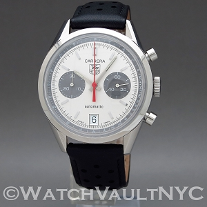 Tag Heuer Carrera Chronograph  40th Anniversary Jack Heuer Limited Edition CV2117 39mm Auto