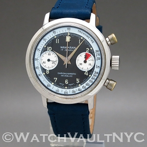 Wakmann Chronograph Valjoux 7733 Vintage 332.24  37mm Manual