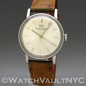 IWC Caliber 89 1214 1969 Vintage 34mm Manual