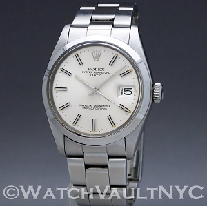 Rolex Oyster Perpetual Date 1500 1979 Vintage 34mm Auto