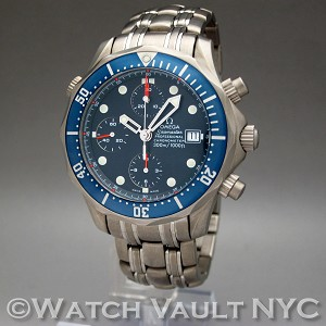Omega Seamaster Professional James Bond Titanium Chrono Diver 2298.80