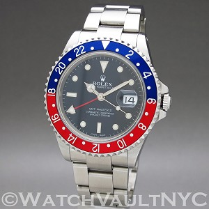 Rolex GMT Master II Pepsi  16710 40mm Auto stainless steel Case black Dial Unisex