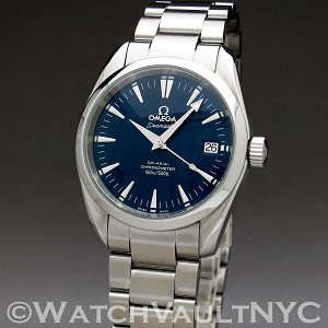 Omega Seamaster Aqua Terra  2504.80 36mm Auto stainless steel Case Blue Dial Unisex