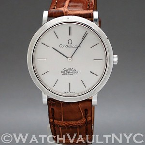 Omega Constellation   157.0001 34mm Auto stainless steel Case Silver Dial Unisex