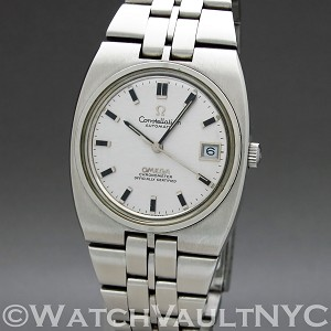 Omega Constellation Calendar 166.055 1970 Vintage 36mm Auto