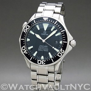 Omega Seamaster Professional 300M Sword Hands 2254.50 41mm Auto stainless steel Case Black Dial Unisex