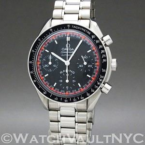 Omega Speedmaster Racing  3518.50 36mm Auto stainless steel Case Black Dial Unisex