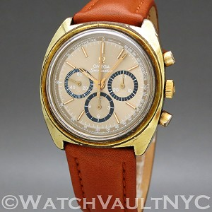Omega Seamaster Chronograph  145.029 42mm Manual gold plated Case gold Dial Unisex