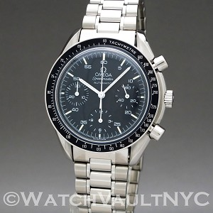 Omega Speedmaster Reduced  3510.50 39mm Auto stainless steel Case Black Dial Unisex