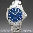 Omega Seamaster Professional Diver 300M Electric Blue 2265.80 41mm Quartz stainless steel Case Blue Dial Unisex