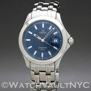 Omega Seamaster 120M  2511.81 36mm Quartz stainless steel Case Blue Dial Unisex