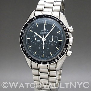 Omega Speedmaster Professional Moonwatch 3592.50 Display Back 1992 Vintage 42mm Manual