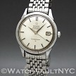 Omega Constellation Jumbo  ST168.001 36mm Auto stainless steel Case Silver Dial Unisex