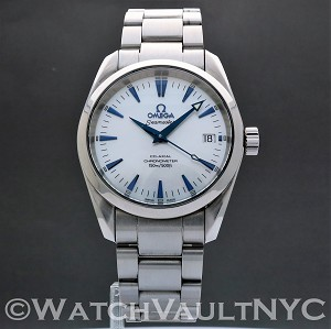 Omega Seamaster Aqua Terra 2504.70 Mother of Pearl Dial 36mm Auto