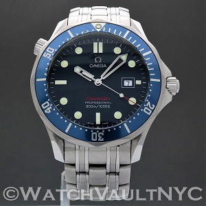 Omega Seamaster Professional 300M 2221.80 James Bond 41mm Quartz