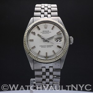 Rolex Oyster Perpetual Datejust 1601 Wide Boy Vintage 36mm Auto