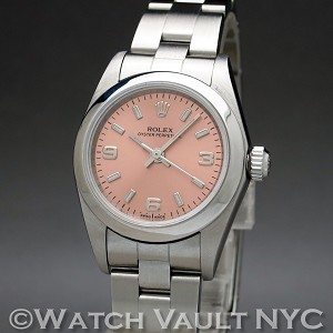 Rolex Ladies Oyster Perpetual 76080 24mm Auto