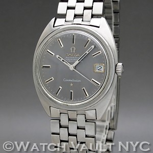 Omega Constellation Calendar ST 168.017SP 1969 Vintage 35mm Auto