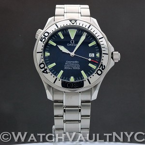 Omega Seamaster Professional 300M 2255.80 Electric Blue 41mm Auto